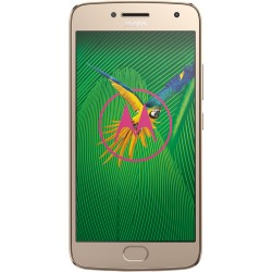 Moto G5 Plus XT1687 32GB Smartphone (Unlocked, Fine Gold)