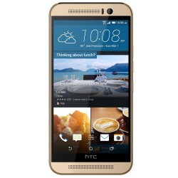 HTC One M9 32GB Smartphone (Unlocked, Gold)