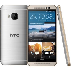 HTC One M9 32GB Smartphone (Unlocked, Silver / Gold)