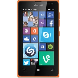 Microsoft Lumia 435 RM-1070 8GB Smartphone Unlocked, Bright Orange