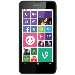 Nokia Lumia 630 RM-976 8GB Smartphone, Unlocked, Black