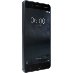 Nokia 6 TA-1025 32GB Unlocked Smartphone, Tempered Blue