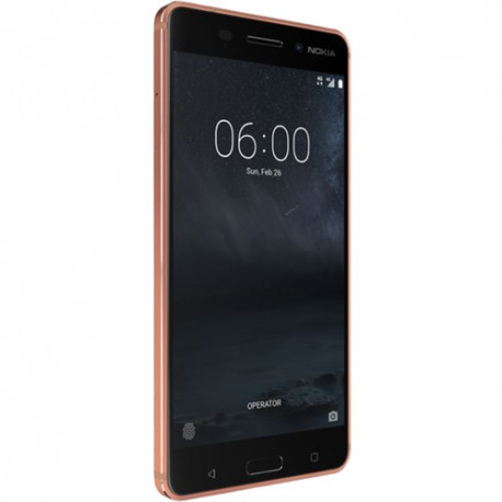 Nokia 6 TA-1025 32GB Unlocked Smartphone, Copper
