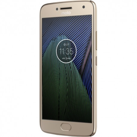 Moto G5 Plus XT1687 32GB Unlocked Smartphone, Fine Gold